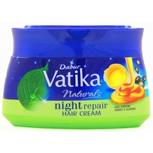 VATIKA Hair Cream Night Repair (Crema pentru Par de Noapte Ou+Ricin+Miere de albine+Migdale) 140ml