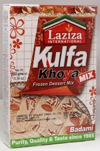 LAZIZA Kulfa Khoya Badami Mix (Inghetata cu Aroma de Migdale) 152g