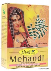 HESH Mehendi Henna Powder (Henna Rosu Pudra) 100g