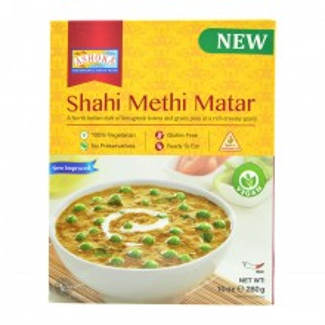 ASHOKA Heat & Eat Shahi Methi Matar (Mancarica de Mazare cu Frunze de Schinduf) 280g
