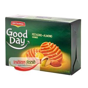 BRITANNIA Good Day Pista - Almond Cookies (Fursecuri cu Fistic si Migdale) 216g