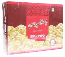 MO'PLEEZ Soan Papdi (Dulce Indian Traditional) 500g