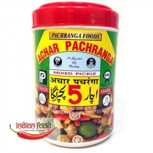 Pachranga Mixed Pickle (Muraturi Indiene Mixte) 800g