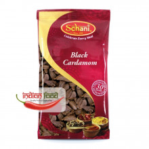 Schani Black Cardamom (Cardamom Negru Intreg) 50g