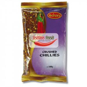 Schani Chillies Crushed (Ardei Iute Pisat) 100g