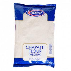 Topop Chapati flour Atta Medium - Faina Indiana 1.5 kg