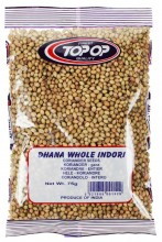 TopOp Dhania Whole Coriander Seeds (Coriandru Boabe) 75g