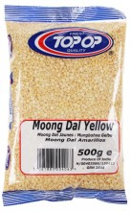 TOPOP Mung Dall Yellow (Linte Galbena Mung) 500g