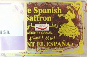TRS Saffron (Sofran) 1g