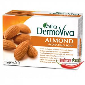 VATIKA Natural Almond Soap (Sapun Hidratant cu Migdale Lemn dulce si Miere de albine) 115g