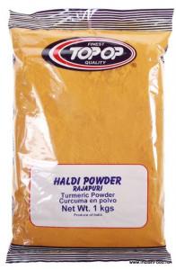TopOp Haldi Turmeric Powder (Curcuma Macinata) 1kg