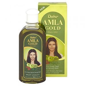 DABUR Amla Gold Hair (Ulei de Amla GoldMigdale + Henna) 200ml