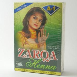 Al Zarqa Henna Mendi Red (Henna Rosu Pudra) 100g