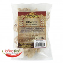 Anjappar Peeled Dried Ginger 100g