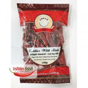 Annam Dried Red Chilli (Ardei Rosu Intreg) 100g