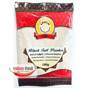 Annam Kala Namak Black Salt Powder (Sare Neagra) 100g