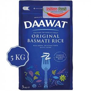 Daawat Original Basmati Rice (Orez Basmati Superior Original) 5kg