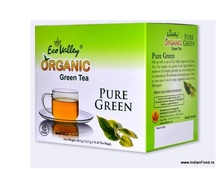 ECO VALLEY ORGANIC GREEN TEA (PURE GREEN) 25 TEA BAGS