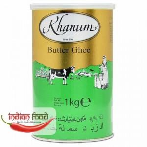 Khanum Butter Ghee (Ulei Indian Pur - Unt) 1kg