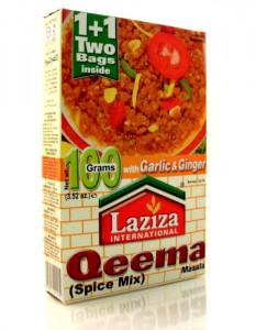 LAZIZA Qeema Masala (Condiment pentru Carne Tocata) 100g