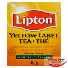 Lipton Yellow Label Loose Tea (Ceai Negru Varsat Lipton) 450g