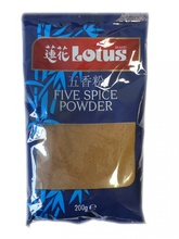 LOTUS FIVE SPICES POWDER 200G