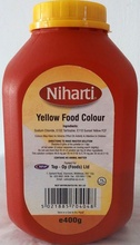 NIHARTI FOOD COLOR YELLOW 400G
