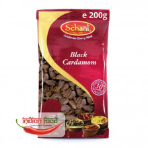 Schani Black Cardamom (Cardamom Negru Intreg) 200g