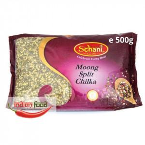 Schani Moong split Chilka (Linte Galbena cu Coaja Mung) 500g