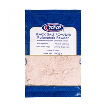 Top Op Kala Namak - Black Salt Powder (Sare Neagra) 100g