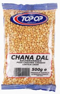 TOPOP Chana Dal (Naut Maro fara Coaja) 500g