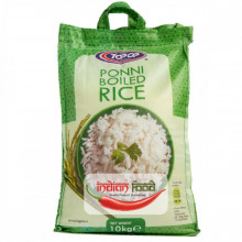 TOPOP Rice Ponni Boiled 10kg