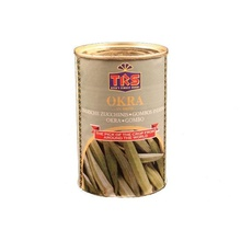 TRS Canned Okra (Bame Conservate) 400g
