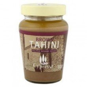 CYPRESSA Brown Tahini (Pasta de Susan Tahini) 300g