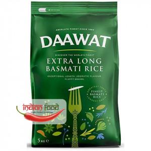 Daawat Extra Long Basmati Rice (Orez Basmati cu bob lung) 5 kg
