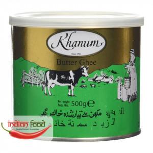 Khanum Butter Ghee (Ulei Indian Pur - Unt) 500g