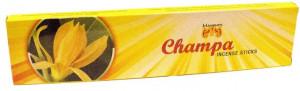 MAUSUM Agarbatthi Champa (Betisoare Parfumate Aroma de Champa) 20Sticks