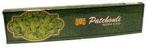 MAUSUM Agarbatthi Patchouli (Betisoare Parfumate Aroma de Patchouli) 20Sticks