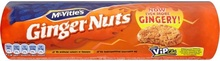 MCVITIES Ginger Nuts Biscuits (Biscuiti cu Ghimbir) 250g