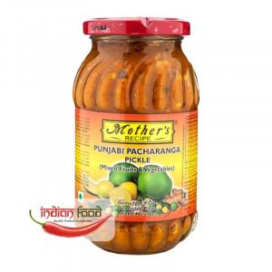 Mother's Recipe Punjabi Pachranga Pickle (Muraturi Indiene Pacharanga din Zona Punjabi ) 00g