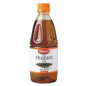 NIHARTI Mustard Oil (Ulei de Mustar) 500ml