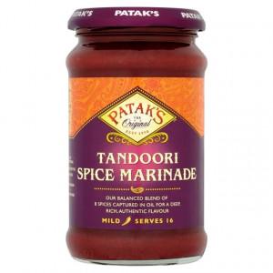 PATAK'S Tandoori Spice Marinade Paste Mild (Pasta Tandoori Mediu) 312g