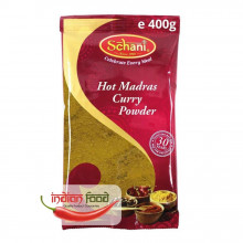 Schani Hot Madras Curry Powder (Condiment pentru Curry Picant) 400g