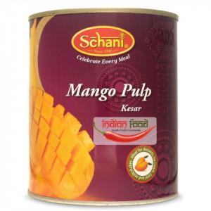 Schani Mango Pulp Kesar (Nectar de Mango) 850g
