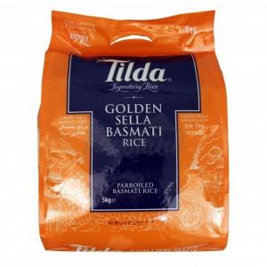 Tilda Golden Sella Basmati (Orez Basmati Sella) 5kg