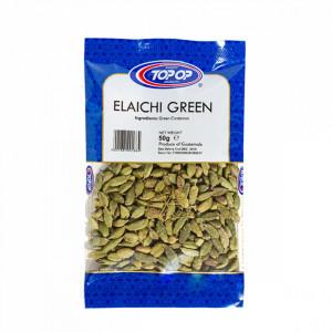 TOPOP Elaichi - Green Cardamom (Cardamom Verde) 50g