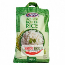 TOPOP Rice Ponni Boiled 5kg