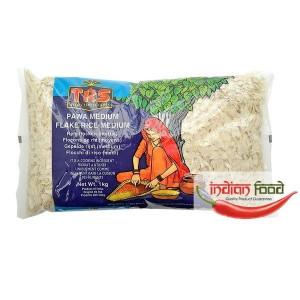 TRS Pawa Poha Medium (Orez Aplatizat) 1kg