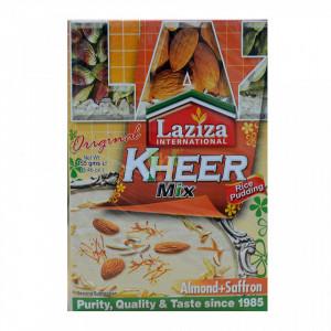 LAZIZA Kheer Mix - Almond & Saffron (Budinca Kheer de Vermicelli - Migdale si Sofran) 155g