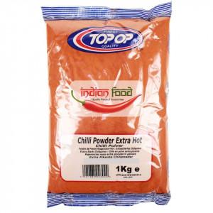 TopOp Red Chilli Powder Extra Hot (Boia Iute Rosie) 1kg
